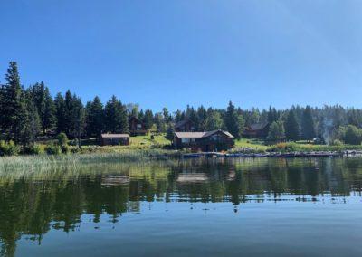 Campsite-Rentals at Roche Lake Resort in Kamloops